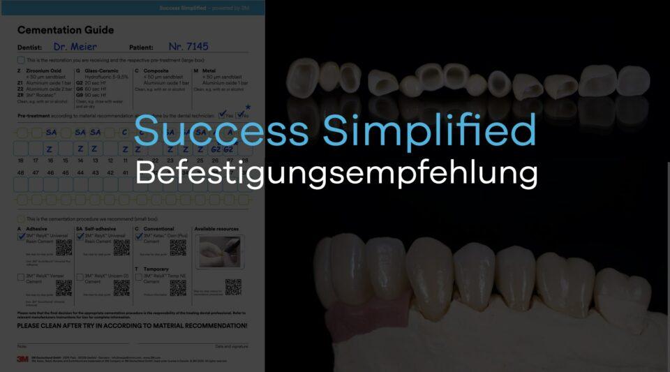 "Artikelbild mit der Aufschrift ""Success Simplified Befestigungsleitfaden"""
