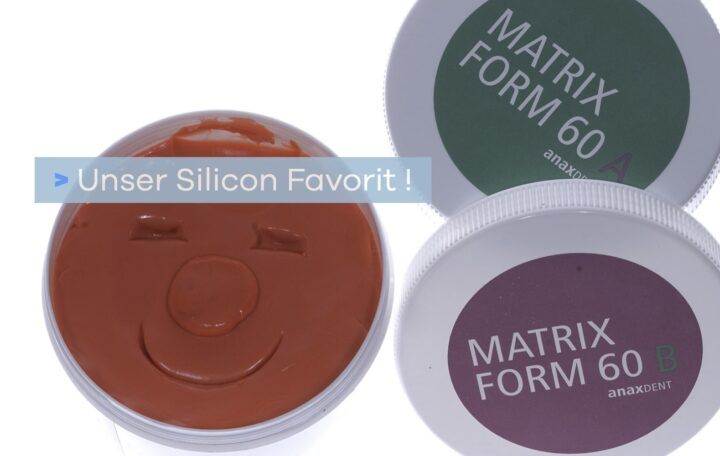 Silicone curing putty by anaxdent